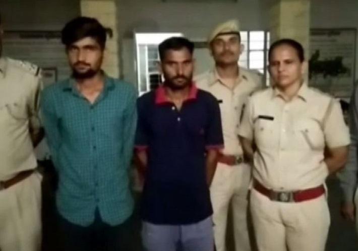 The two accused arrested by  Jodhpur Police for giving life threat to Salman Khan
