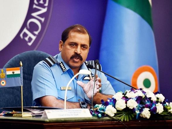 Indian Air Force chief RKS Bhadauria