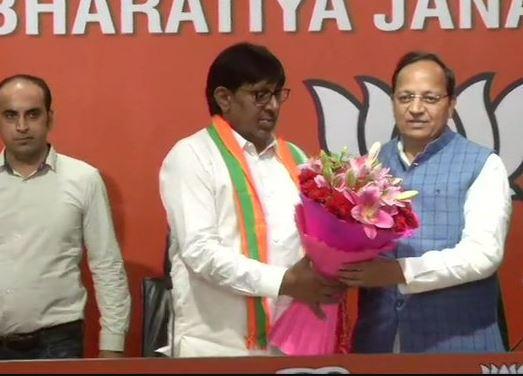 Kartar Singh Bhadana joins BJP
