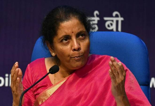 Union Finance Minister Nirmala Sitharaman