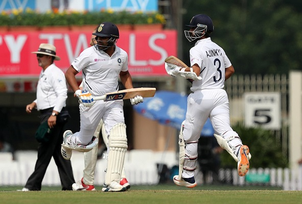 India cricketer Rohit Sharma and Ajinkya Rahane