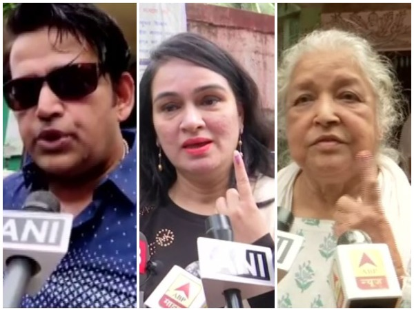 Ravi Kishan, Padmini Kolhapure and Subha Khote