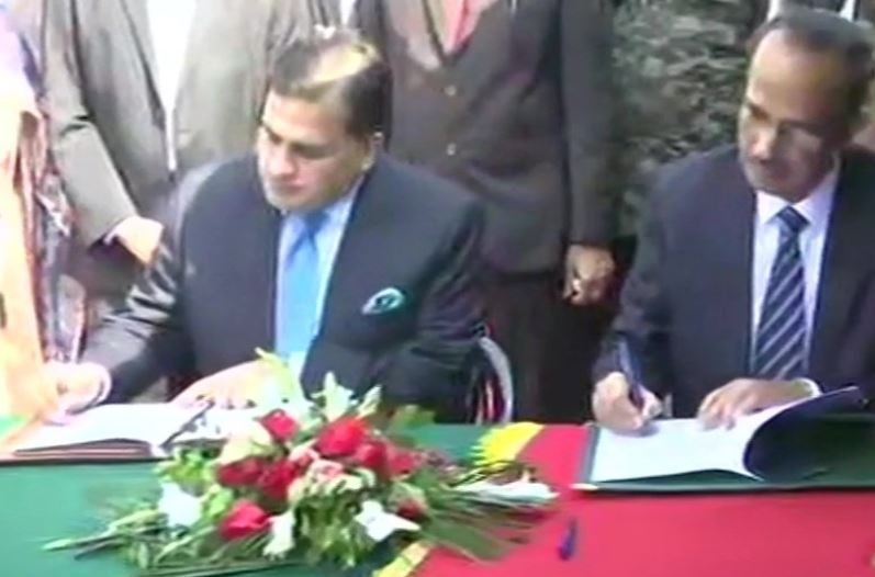 An agreement on operationalisation of Kartarpur Corridor signed