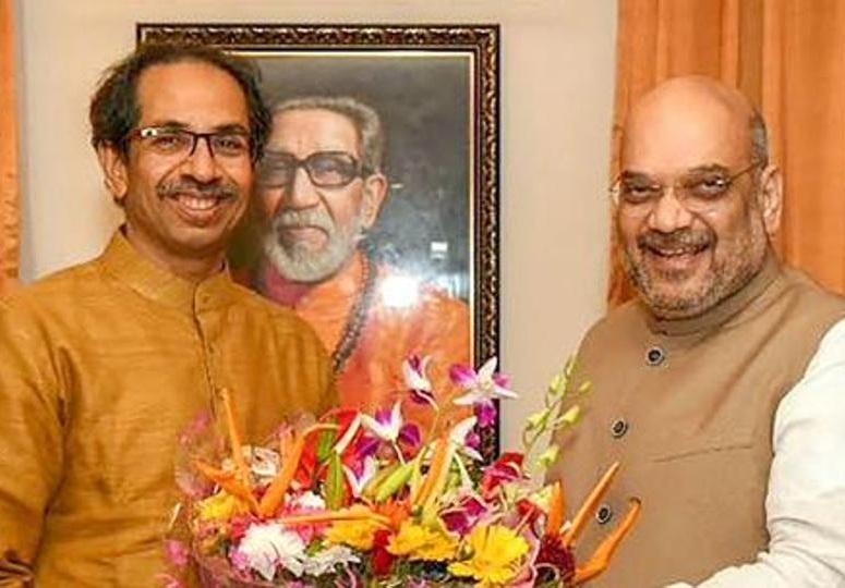 Amit Shah meet Uddhav Thackeray