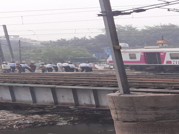 Two coaches of an EMU derailed in New Delhi on Friday