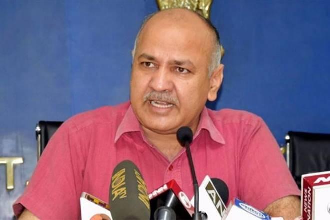 Deputy Chief Minister Manish Sisodia