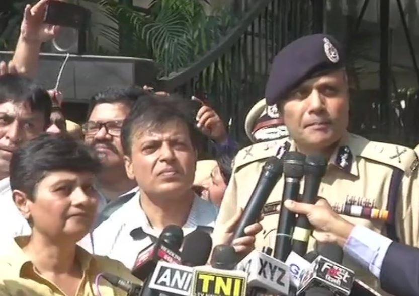 Delhi Commissioner of Police Amulya Patnaik