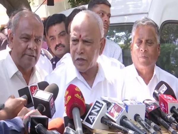 Karnataka Chief Minister BS Yediyurappa speaking to media persons in Bengaluru on Wednesday
