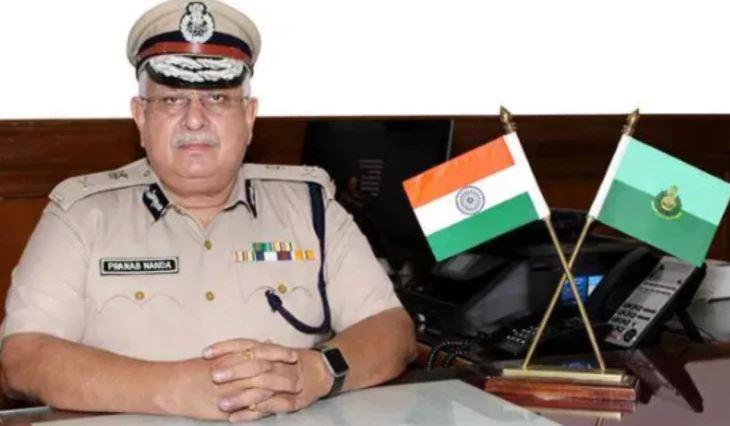 Goa's Director General of Police Pranab Nanda