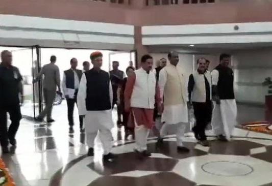 Lok SabhaSpeaker Om Birla on Saturday met leaders of various parties