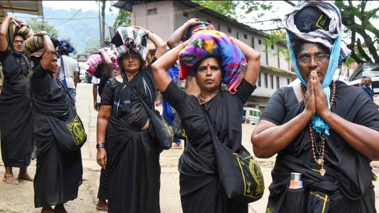 The Kerala government has made it clear that it would not provide security to any woman of menstruating age visiting the shrine
