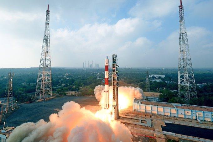 ISRO on Wednesday launched PSLV-C47 carrying Cartosat-3 and 13 nanosatellites from Sriharikota