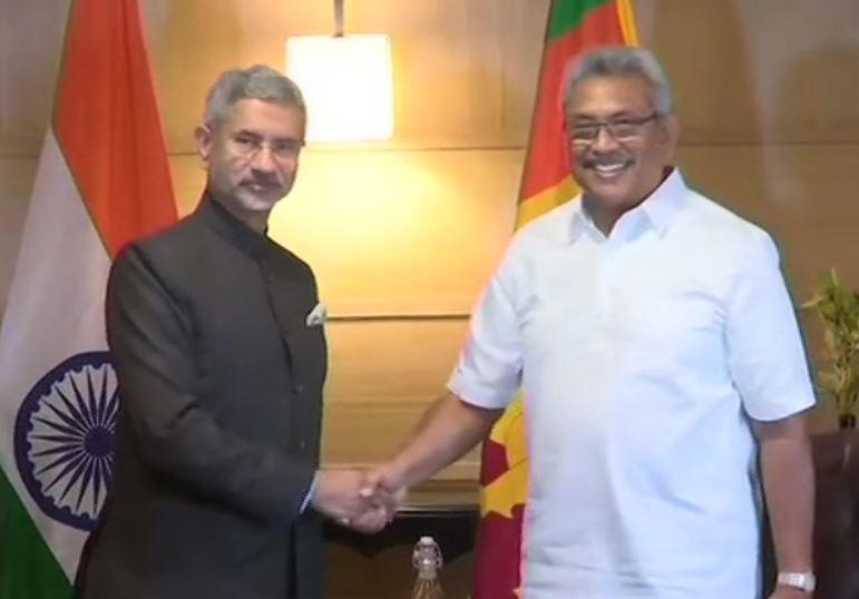 External Affairs Minister S Jaishankar meets  newly-elected Sri Lankan President Gotabaya Rajapaksa