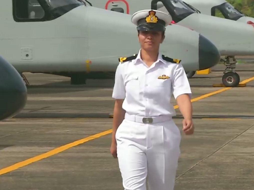 Sub-lieutenant Shivangi