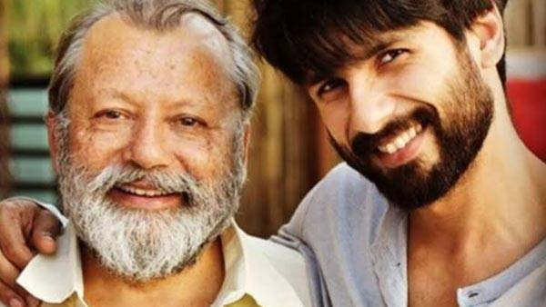 Shahid Kapoor and Pankaj Kapur