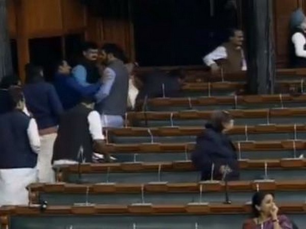Congress MPs staged walkout from the Lok Sabha on Friday