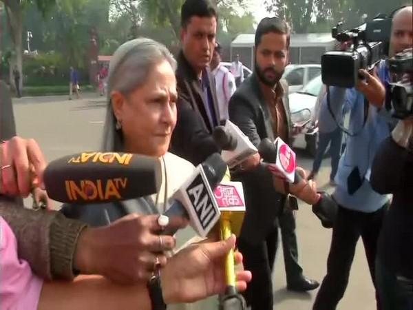 Samajwadi Party MP Jaya Bachchan