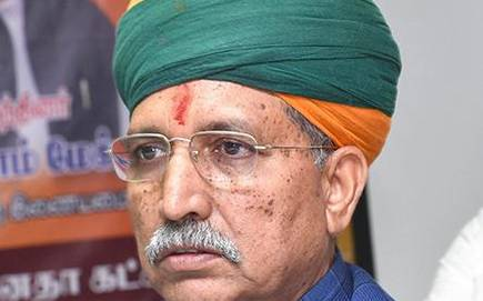 Minister of State  Arjun Ram Meghwal