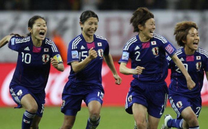 Japan's women soccer team