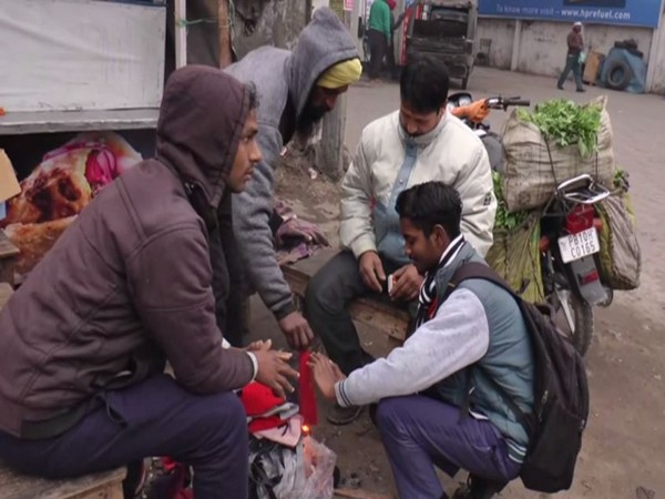 The cold wave continues to disrupt the regular life in Ludhiana