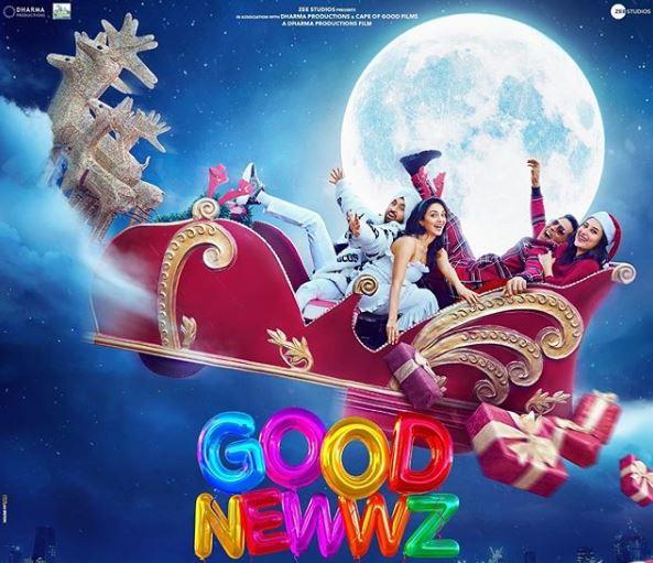 'Good Newwz' jingles all the way on Christmas