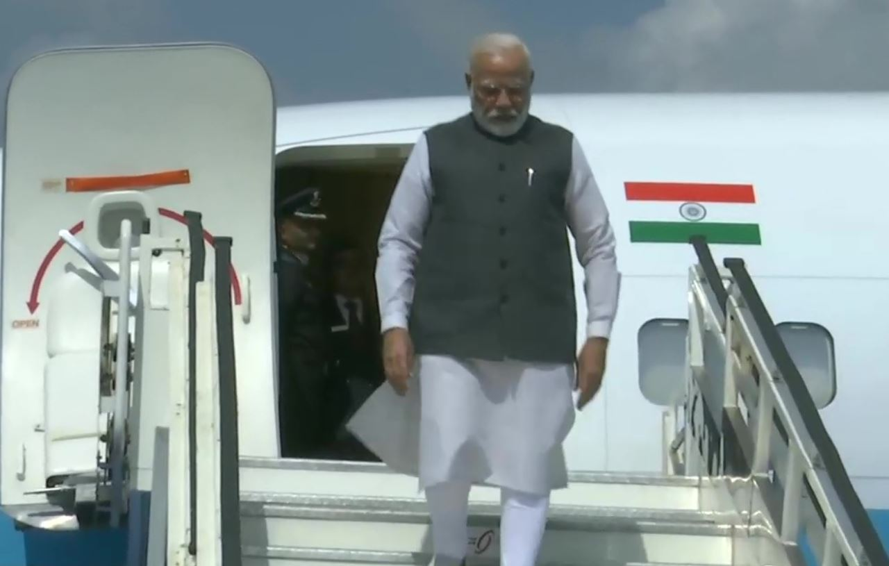 PM arrives in Karnataka on two-day visit
