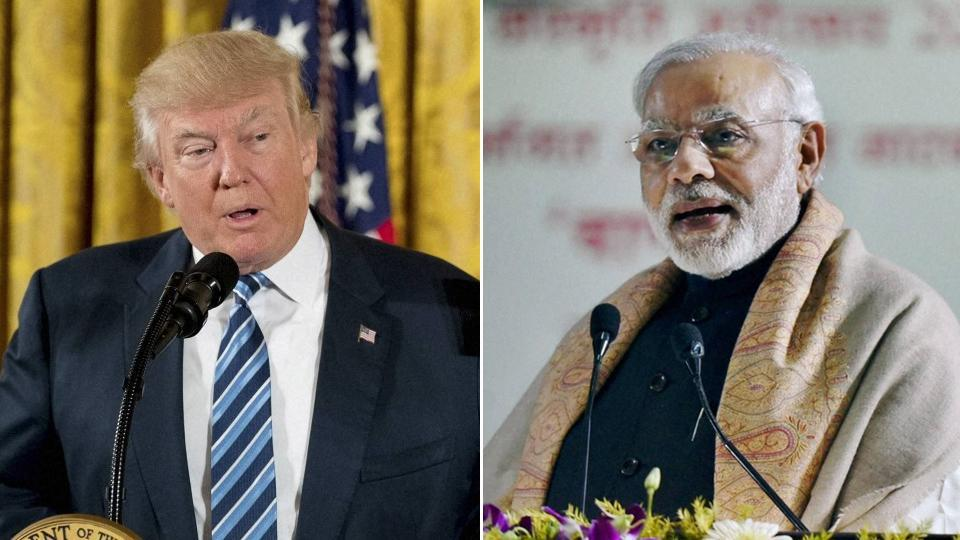 PM Modi and USA President Donald Trump