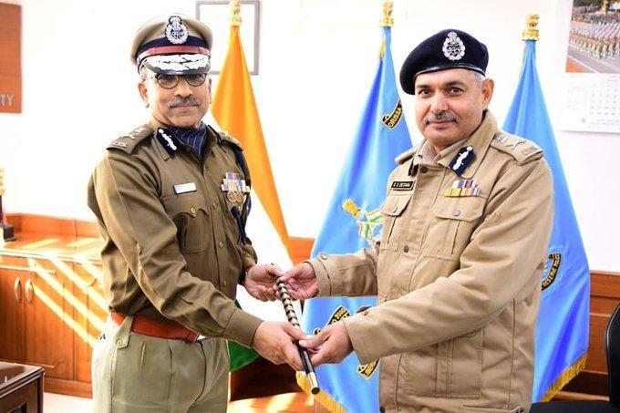 IPS officer Anand Prakash Maheshwari