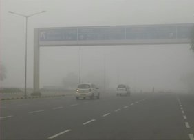 Delhi covered with fog