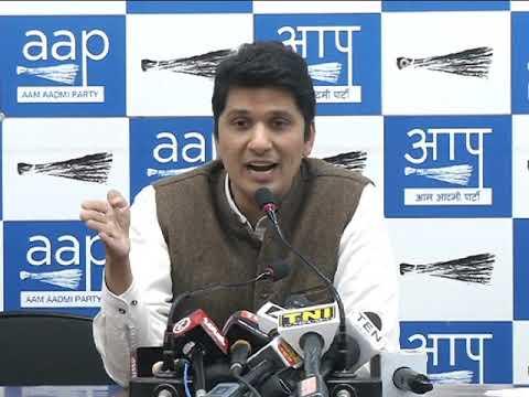 AAP spokesperson Saurabh Bhardwaj
