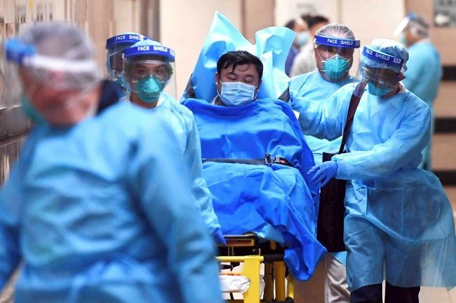 Death of a person from coronavirus (File Photo)