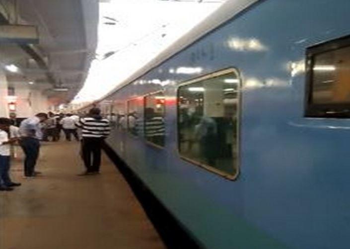 Vijayawada-Secunderabad Intercity Express train was checked after the hoax call on Thursday