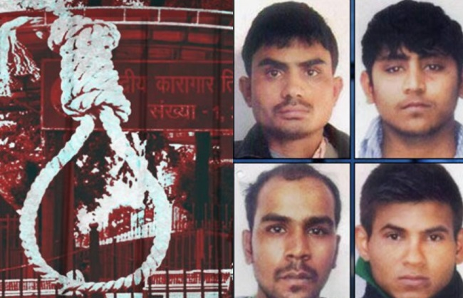 Convicts of Nirbhaya case (File Photo)