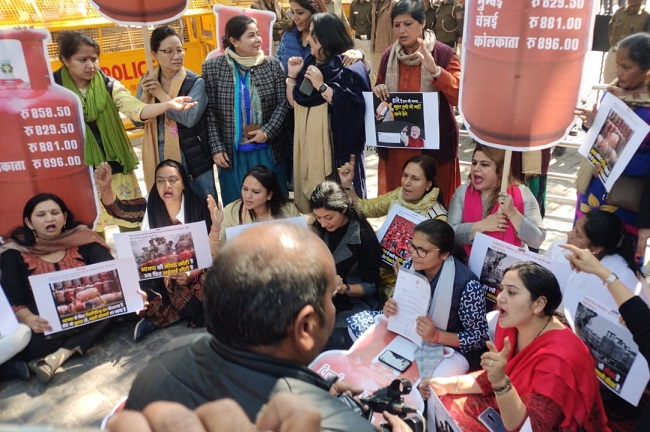 Mahila Congress to stage countrywide protest