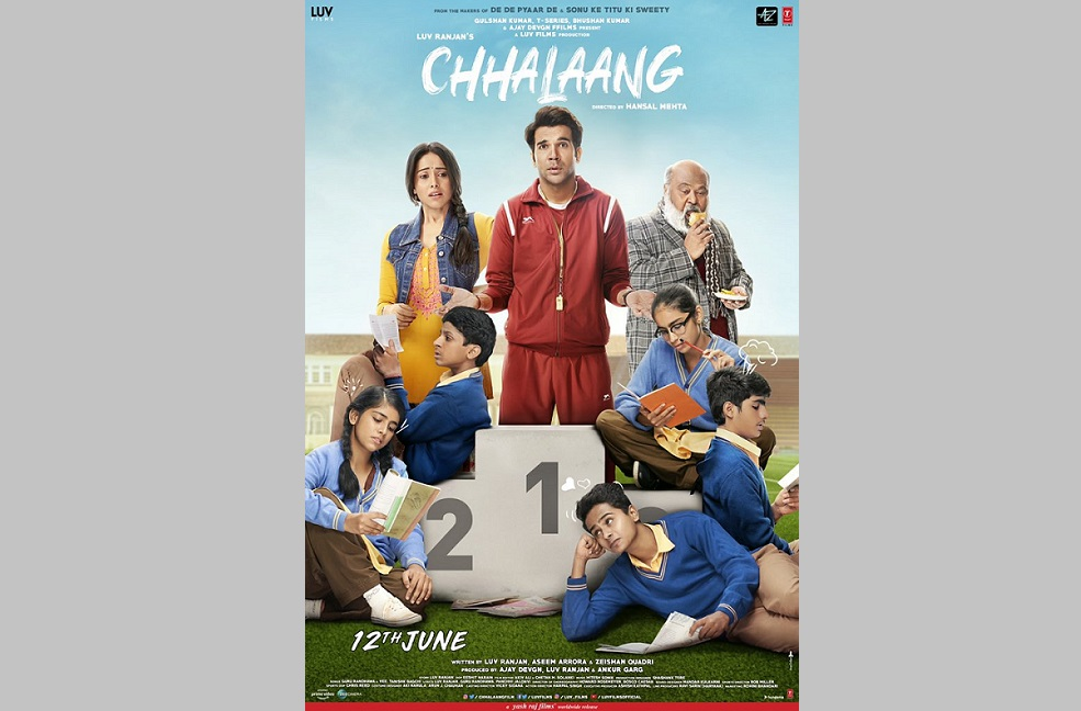 Poster of film 'Chhalaang'