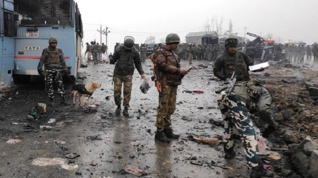 Pulwama attack (File Photo)