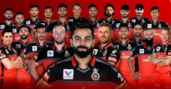 Royal Challengers Bangalore sqaud for IPL 2020
