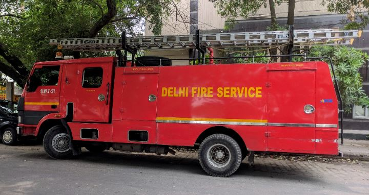 Fire at hotel basement in Delhi (Representational Image)