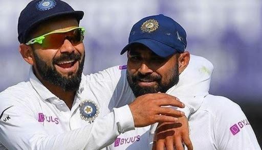 Virat Kohli posts pic with Shaw, Shami