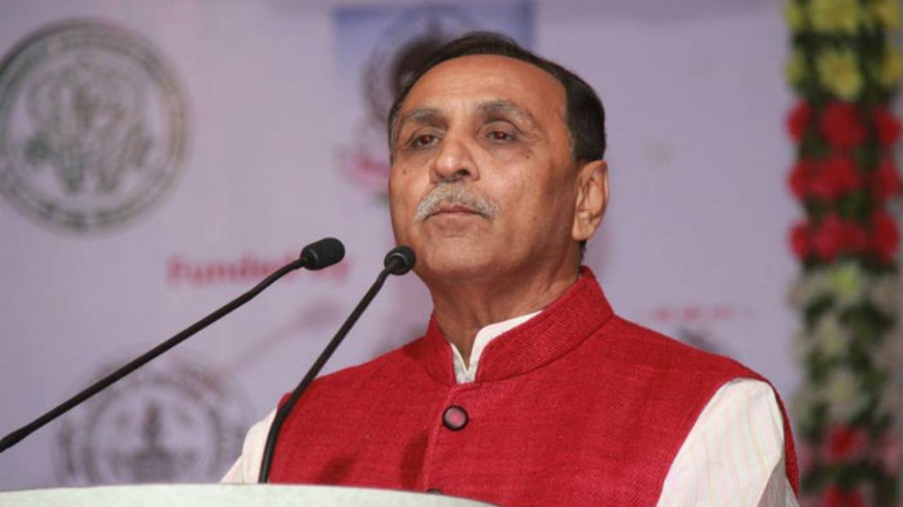 Chief Minister of Gujarat Vijay Rupani