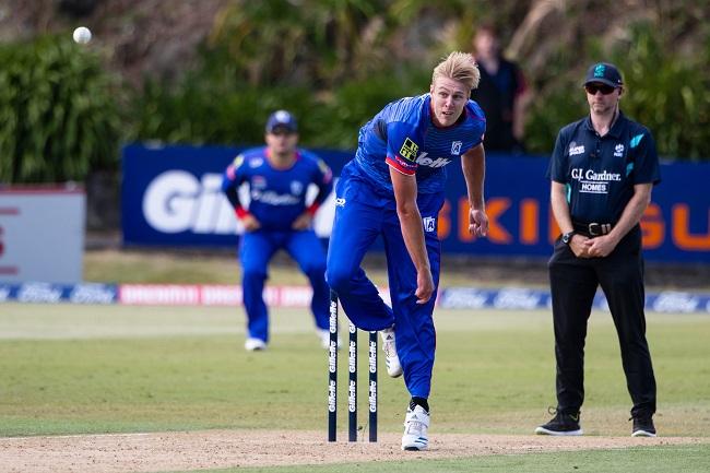 New Zealand pacer Kyle Jamieson