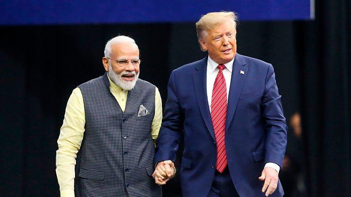 US President Donald Trump and Prime Minister Narendra Modi