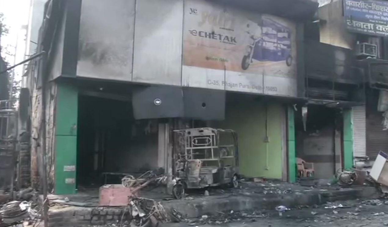 Fresh violence in parts of northeast Delhi