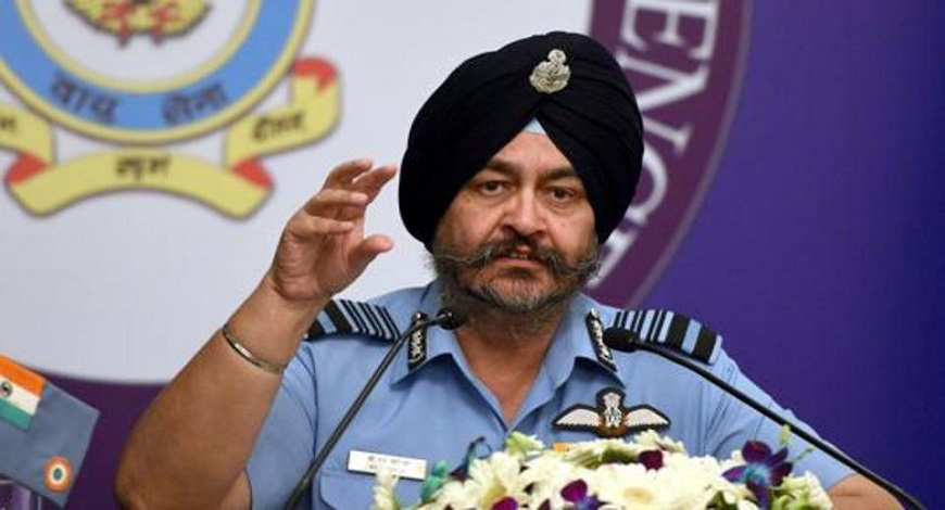 Former Air Chief BS Dhanoa