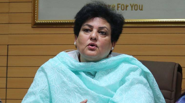 National Commission for Women (NCW) Chairperson Rekha Sharma