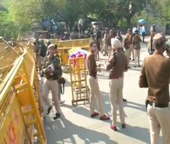 Heavy Police have been deployed in Shaheen Bagh on Sunday