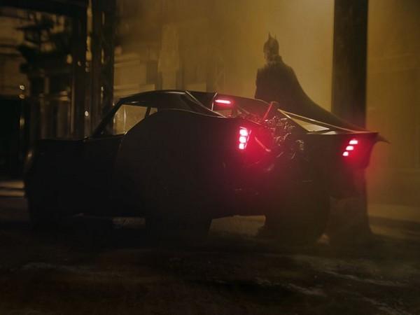 First look of Robert Pattinson's Batmobile from the upcoming 'The Batman' superhero movie