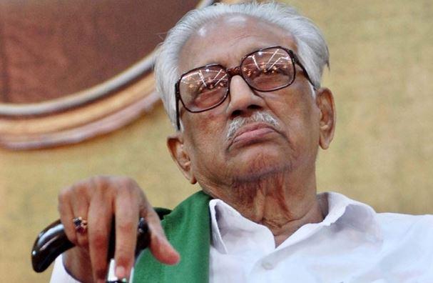 Veteran DMK leader K Anbazhagan