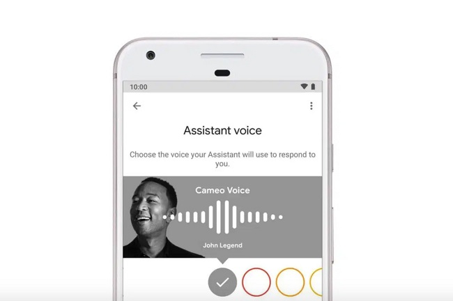 Google Assistant is losing John Legend's cameo voice