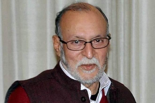 Delhi Lieutenant Governor Anil Baijal